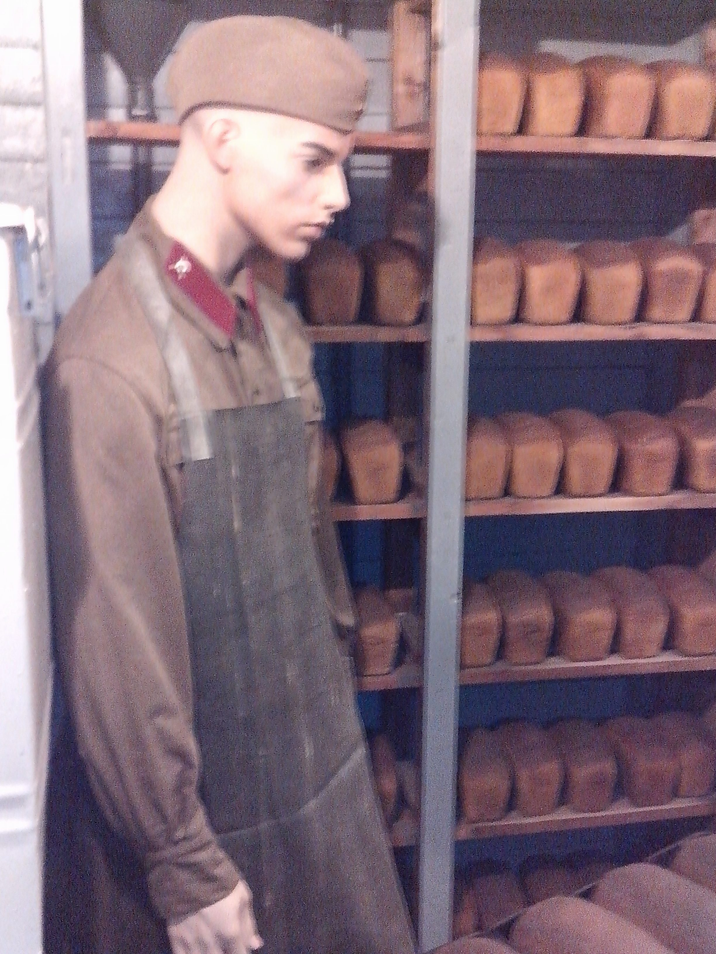 пекарня на бронепоезде