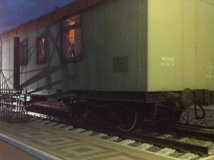 штабной вагон в составе музея бронепоезда