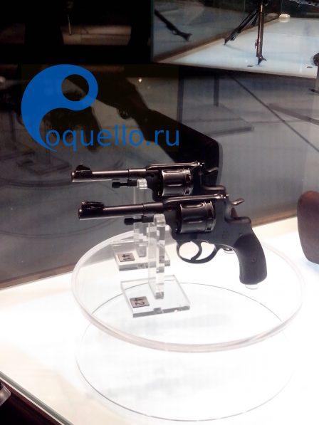 Музей оружия Тула, револьвер Нагана