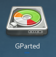 GParted GNOME