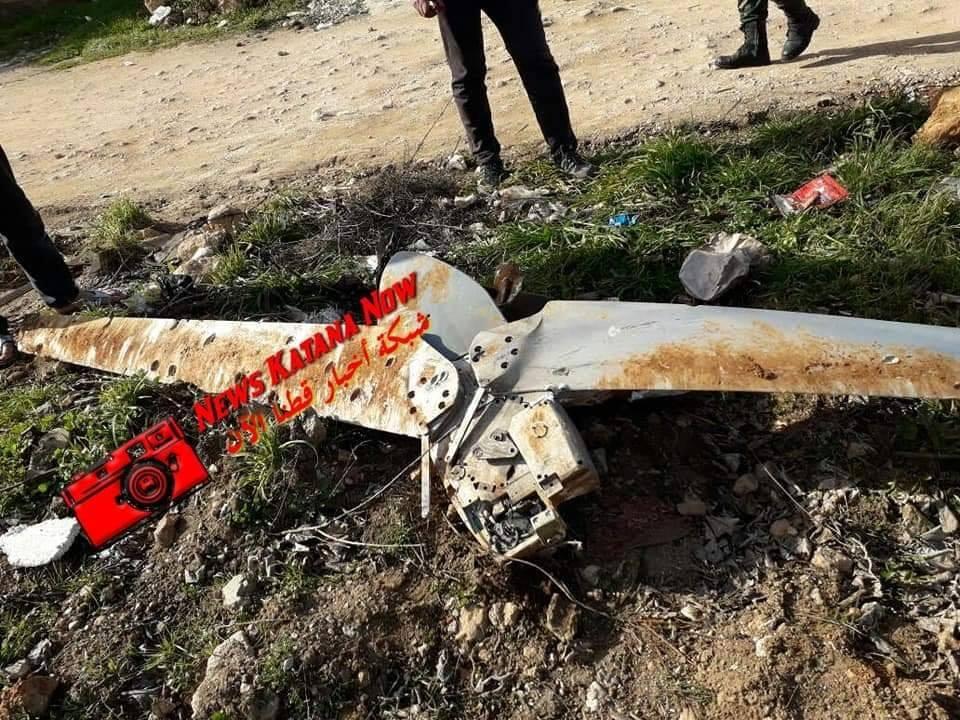 детали планирующей бомбы под Дамаском